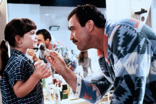 Robin Weisman und Tom Selleck in 'Drei Männer und eine kleine Lady' © Touchstone 1990
