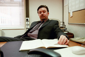 Ticky Gervais in 'The Office'