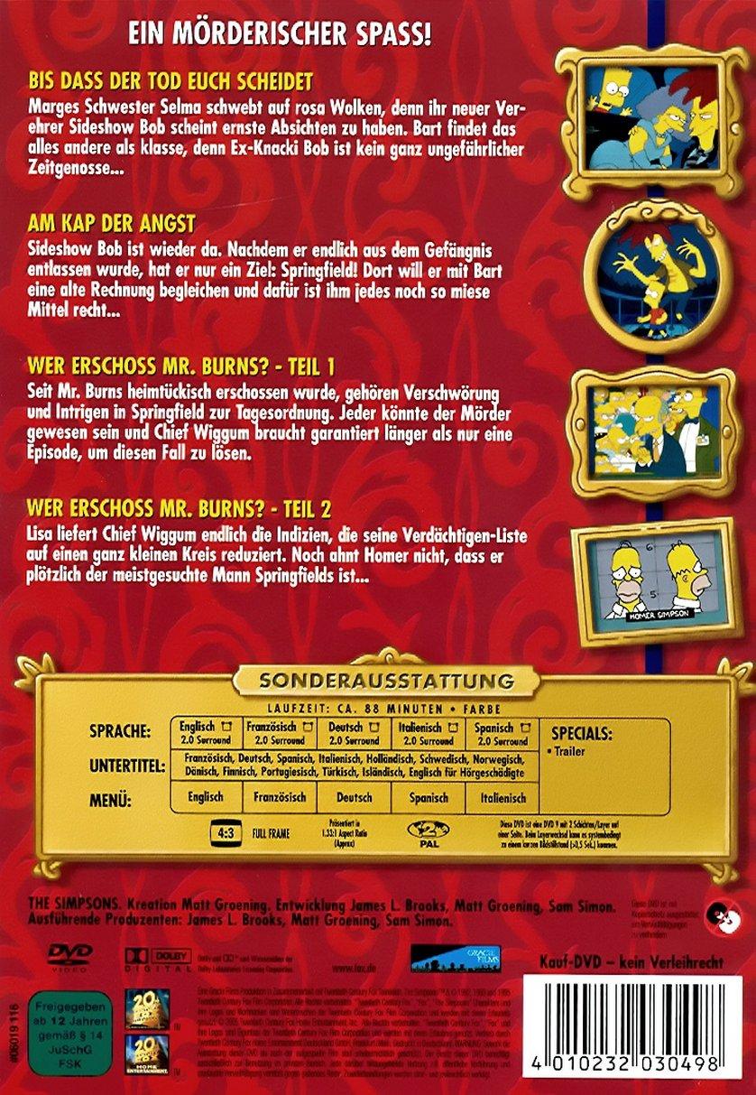 Die Simpsons Morderische Geschichten Aus Springfield Dvd Oder Blu Ray Leihen Videobuster De