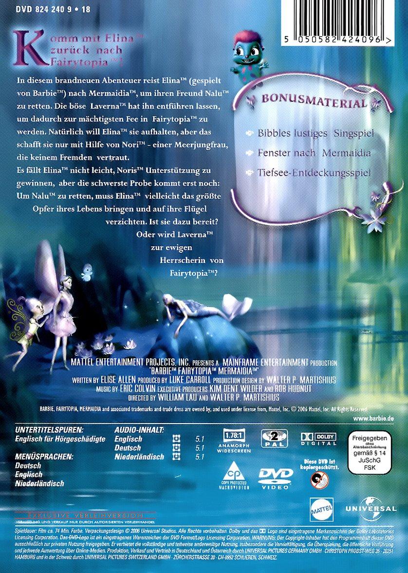 barbie fairytopia 2 mermaidia dvd oder blu ray leihen. Black Bedroom Furniture Sets. Home Design Ideas