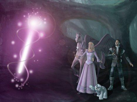 Barbie Und Der Geheimnisvolle Pegasus Dvd Oder Blu Ray