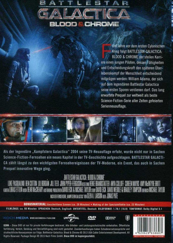 What Are Dts >> Battlestar Galactica - Blood & Chrome: DVD oder Blu-ray leihen - VIDEOBUSTER.de