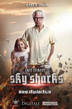 Ralf Richter 2021 im Kino: 'Sky Sharks' © MFA+ Filmdistribution
