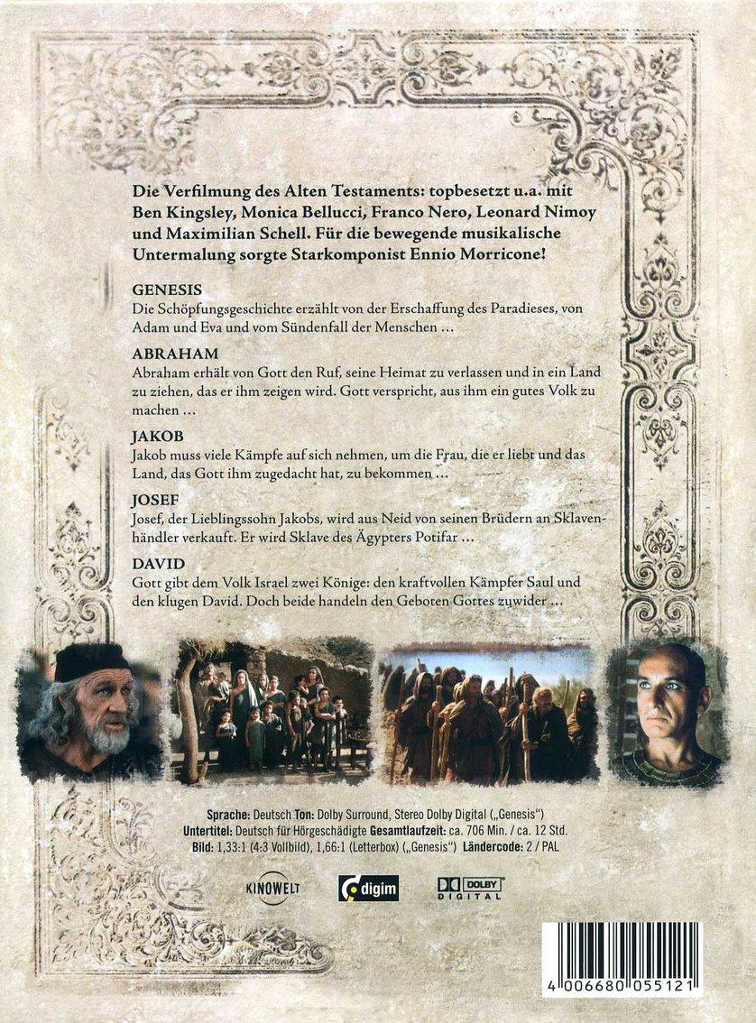 Die Bibel Das Alte Testament Teil 1 Dvd Oder Blu Ray