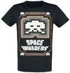 Space Invaders Glowing Invader powered by EMP (T-Shirt)