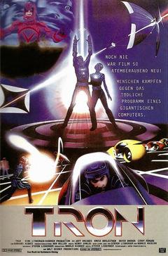 'Tron' Kinoposter 1982