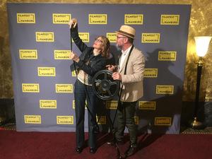...die beiden Regisseure Valerie Faris und Jonathan Dayton beim Photocall auf dem Filmfest Hamburg...