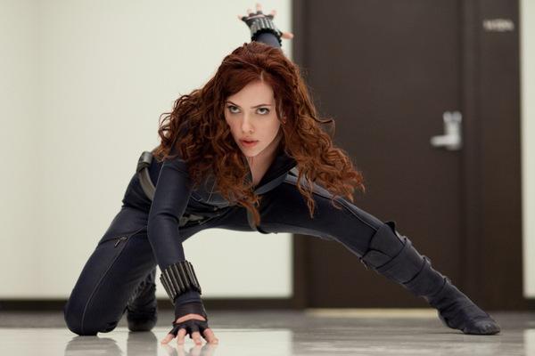 "Scarletts Haarfarbe 2010: ""Iron Man 2"""
