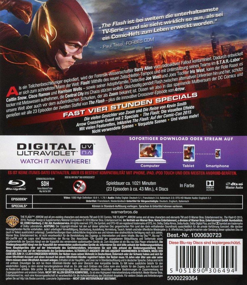 The Flash Staffel 2 Dvd Oder Blu Ray Leihen Videobusterde