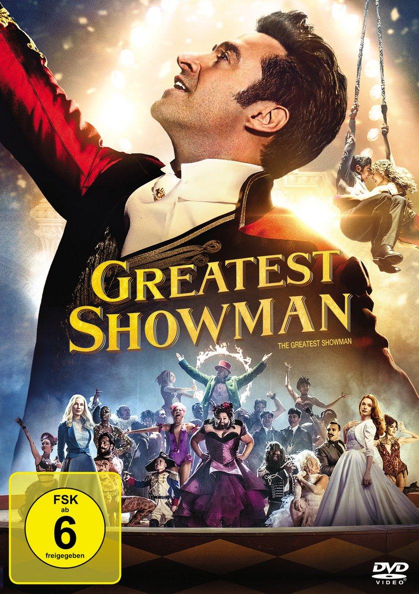 Greatest Showman: DVD oder Blu-ray leihen - VIDEOBUSTER.de  Greatest Showma...