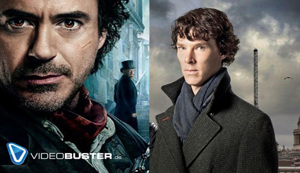 Sherlock Holmes: Cumberbatch und Downey Jr. geben sich Tipps
