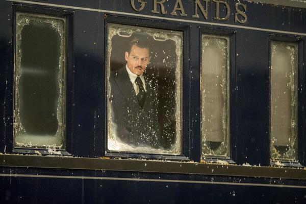 Johnny Depp in 'Mord im Orient Express' © 20th Century Fox