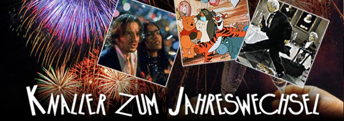 Frohes neues Filmjahr: Ein Silvesterabend mit Filmhelden und Serienstars