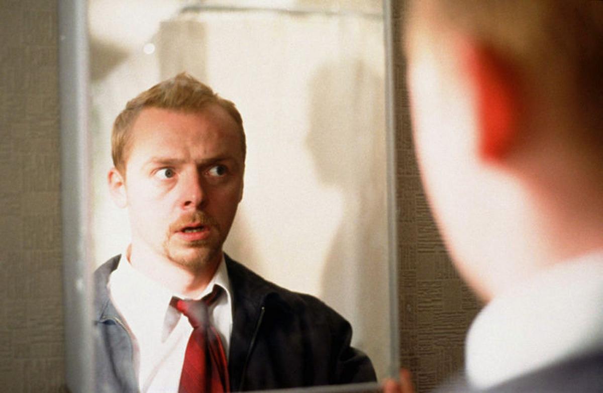 Simon Pegg in 'Shaun of the Dead' (Großbritannien/Frankreich 2004) © Universal Pictures