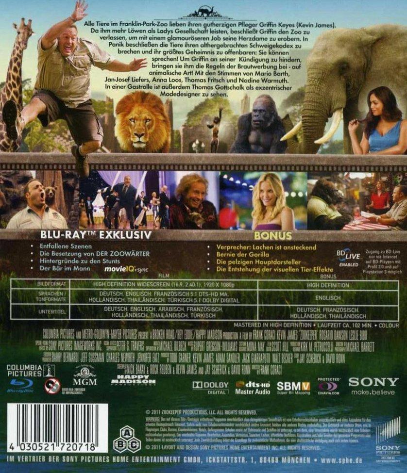Der Zoowarter Dvd Oder Blu Ray Leihen Videobuster De