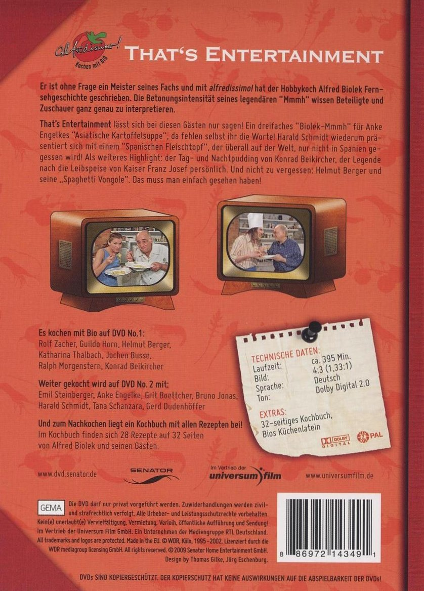 Alfredissimo That S Entertainment Dvd Oder Blu Ray Leihen Videobuster De