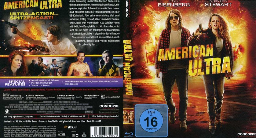 American Ultra Stream Deutsch