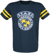 Resident Evil 3 - S.T.A.R.S. T-Shirt blau gelb powered by EMP