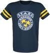 Resident Evil 3 - S.T.A.R.S. T-Shirt blau gelb powered by EMP (T-Shirt)