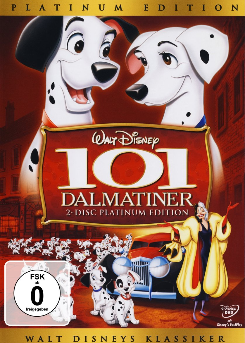 Pongo Und Perdita 101 Dalmatiner Dvd Oder Blu Ray Leihen Videobuster De