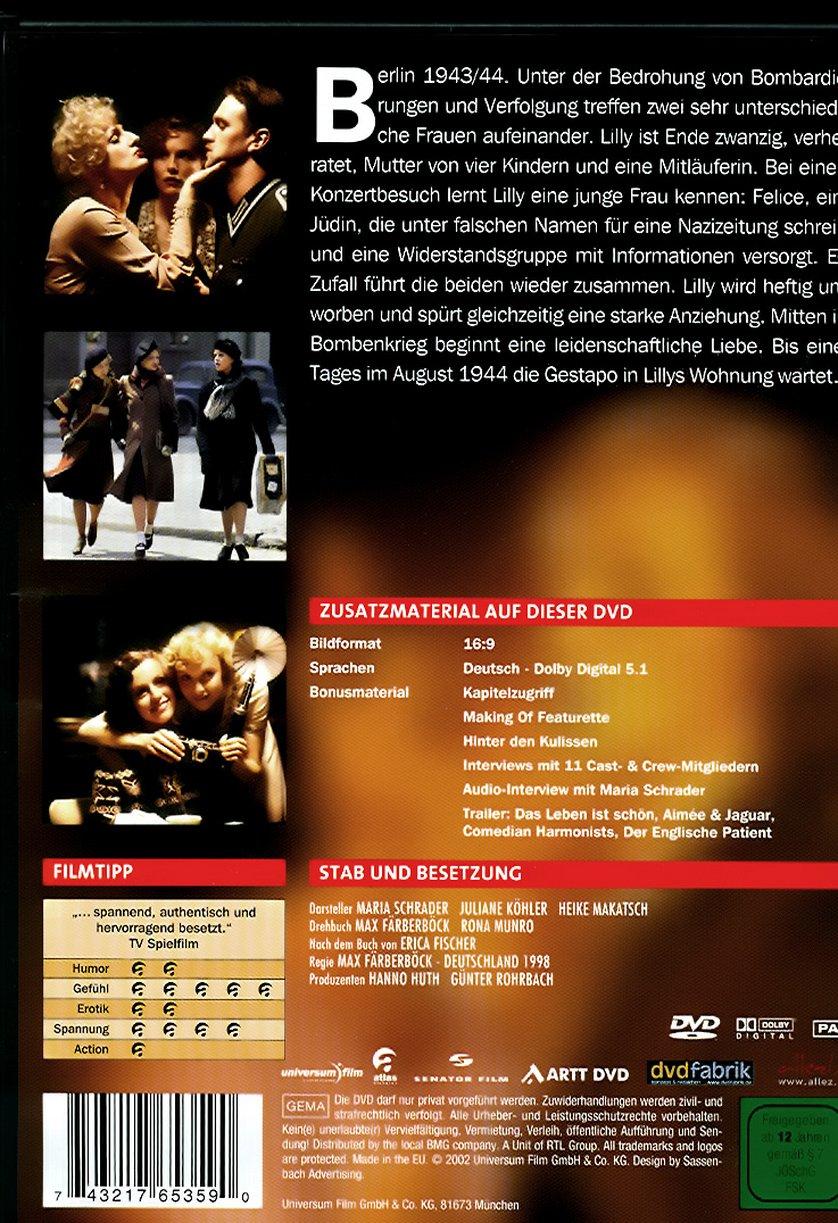 aimée & jaguar: dvd, blu-ray oder vod leihen - videobuster.de