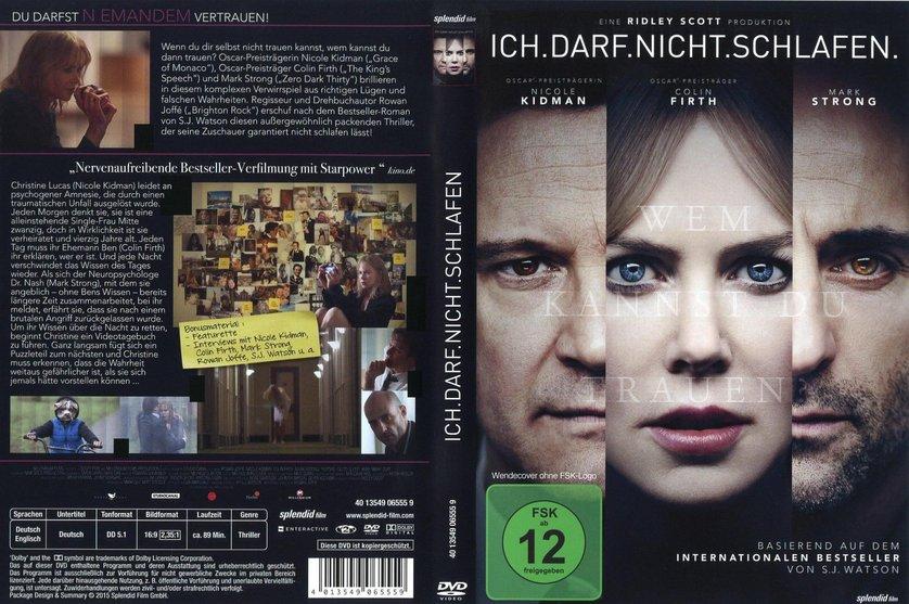 Ich Darf Nicht Schlafen Trailer Deutsch