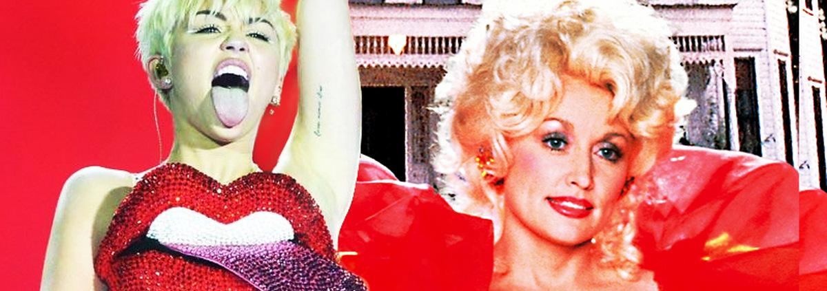 Miley Cyrus als Dolly Parton: Country-Star-Biopic: Miley Cyrus gegen Scarlett Johansson!