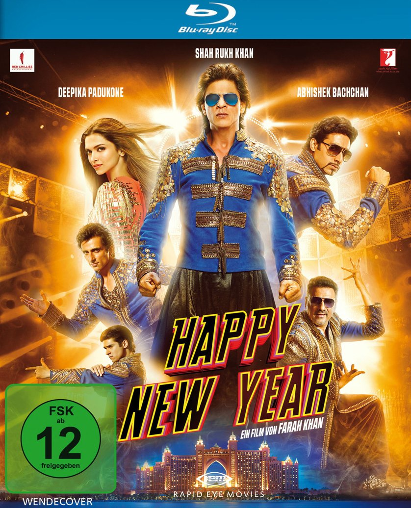 Happy New Year (2014) Hindi Movie 975MB BRRip 720P
