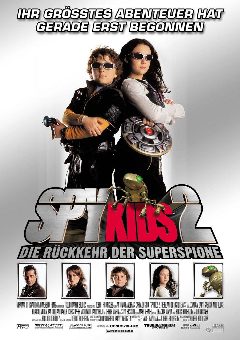 Spy Kids 3 Dvd