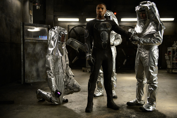 Michael B. Jordan in 'Fantastic 4' 2015