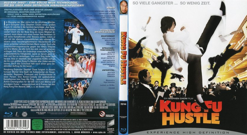 kung fu hustle blu ray review