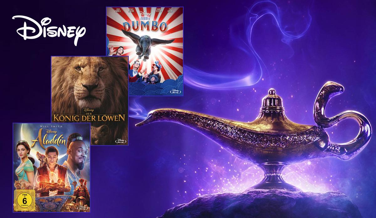 Disney Filme auf Blu-ray & DVD: Die besten Disney Filme für dein Heimkino