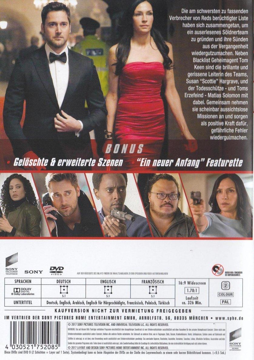 The Blacklist - Redemption - Staffel 1: DVD oder Blu-ray ...  The Blacklist -...