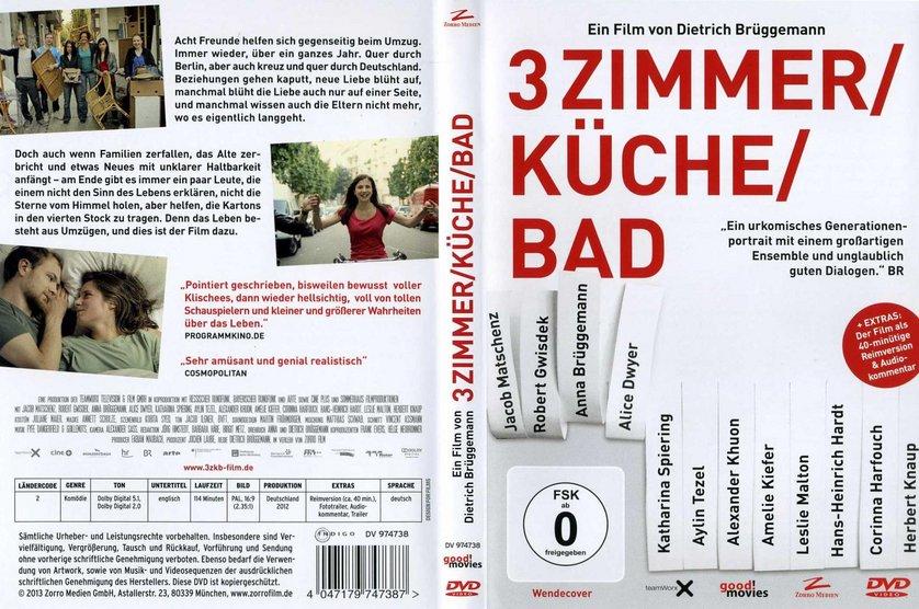 Außergewöhnlich 3 Zimmer / Küche / Bad (DVD)