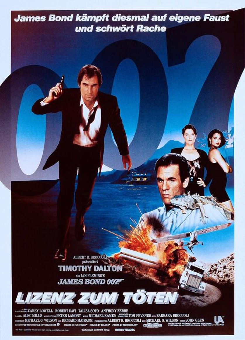 James Bond Lizenz Zum Töten Ganzer Film