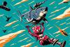 Fortnite Laser Shark powered by EMP (Poster)