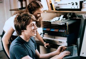 Ein Klassiker von 1982: Matthew Broderick am PC (hier auf Seite 4)
