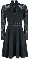 Fashion Victim Turn Up Lace Dress powered by EMP (Mittellanges Kleid)