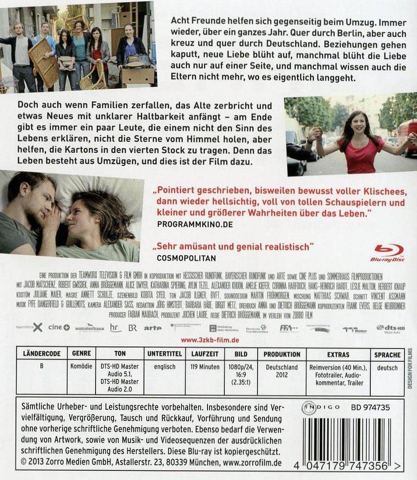 3 Zimmer / Küche / Bad (Blu Ray)