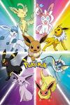 Pokémon Eevee Evolution powered by EMP (Poster)