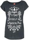 Alice im Wunderland I Find Myself In Wonderland powered by EMP (T-Shirt)