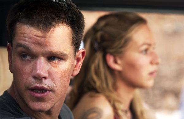 Matt Damon und Franka Potente