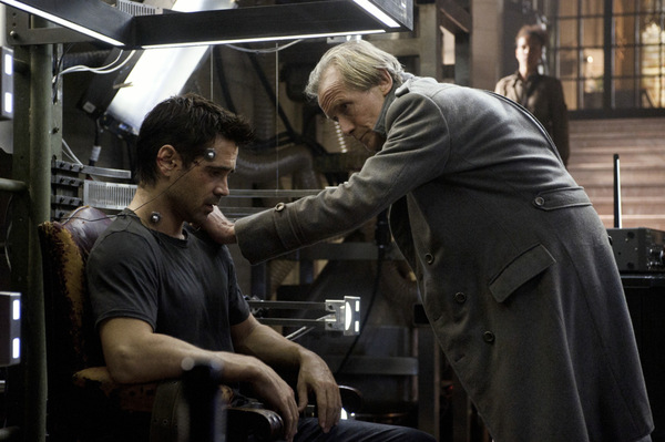 Colin Farrell in 'Total Recall' © Sony 2012