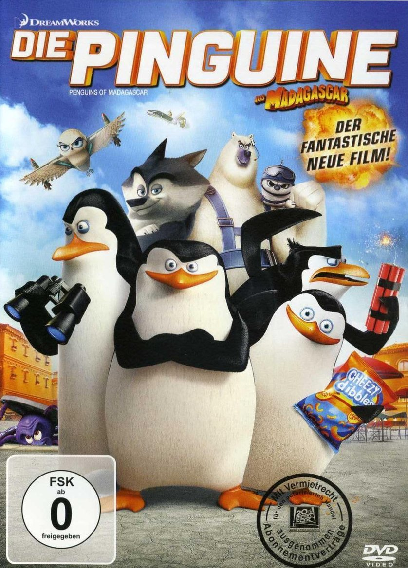 die pinguine aus madagascar der film dvd oder blu ray leihen. Black Bedroom Furniture Sets. Home Design Ideas