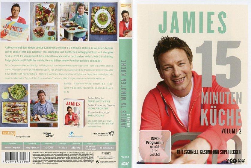 Jamies 15 Minuten Küche - Volume 2: DVD oder Blu-ray leihen ...