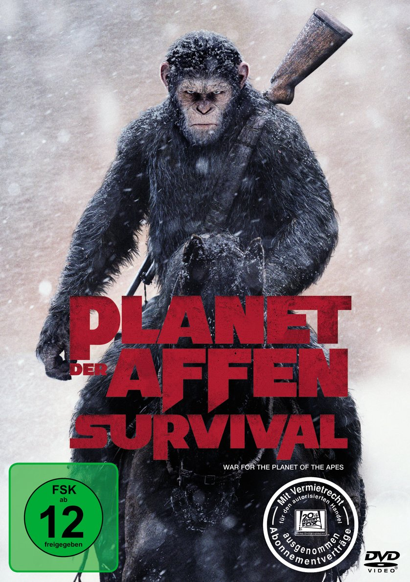planet der affen survival dvd