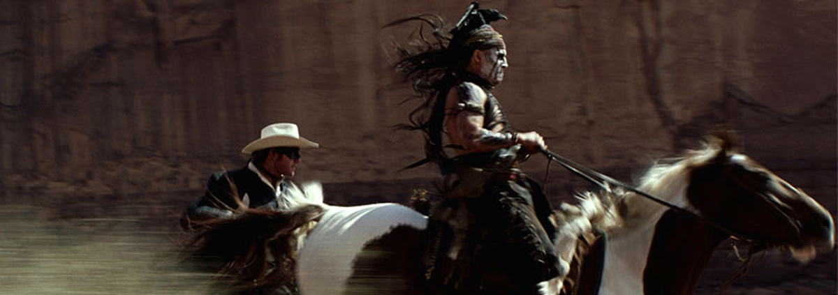 Lone Ranger: Johnny Depp wurde beinahe von Pferd niedergetrampelt