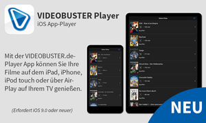 VIDEOBUSTER iOS App-Player