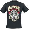 Gas Monkey Garage Lightning Bolt powered by EMP (T-Shirt)