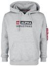 Alpha Industries Alpha Block-Logo Hoody powered by EMP (Kapuzenpullover)